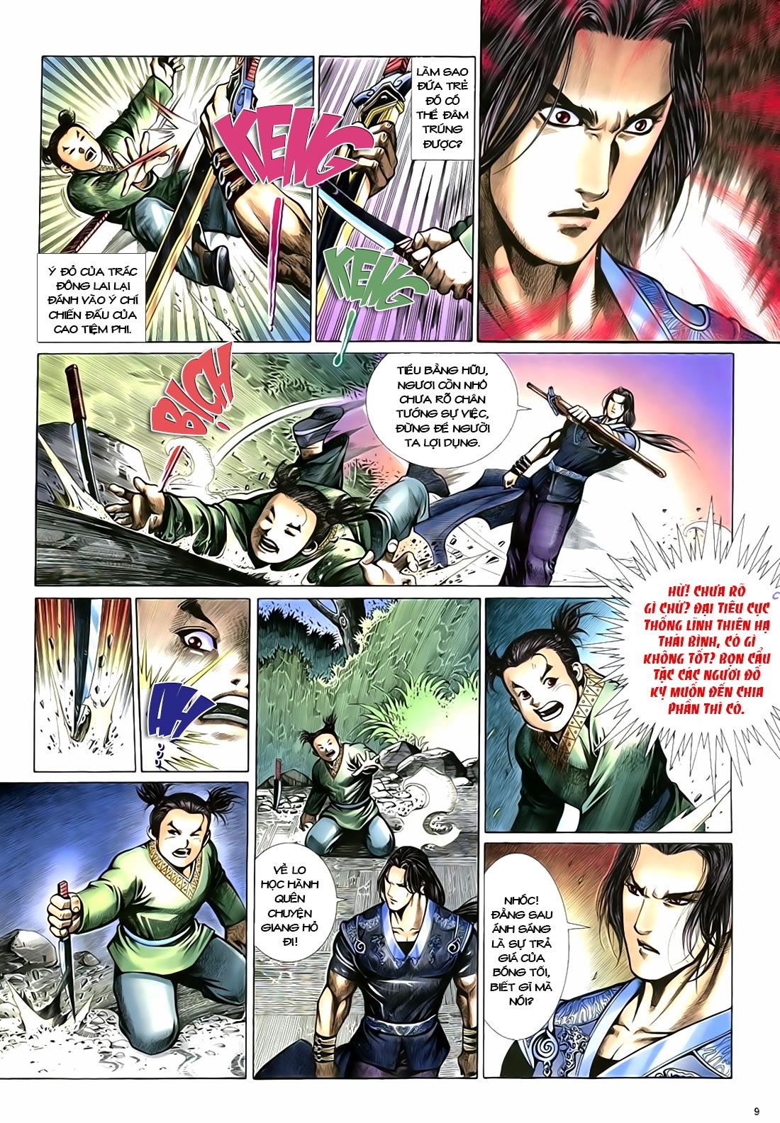 Anh hùng vô lệ Chap 18 trang 10