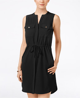 XOXO Drawstring Waist Shirtdress $30 (reg $60)