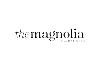 The Magnolia Floral Cafe Logo Baru