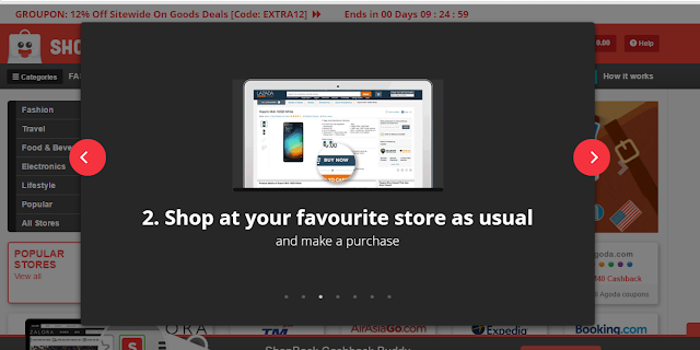 shopback Malaysia, how to shop at shopback