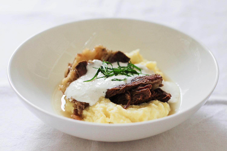 Suppenfleisch und Kartoffelpüree mit Meerrettichsauce und Wasabi | Arthurs Tochter kocht. Der Blog für Food, Wine, Travel & Love von Astrid Paul