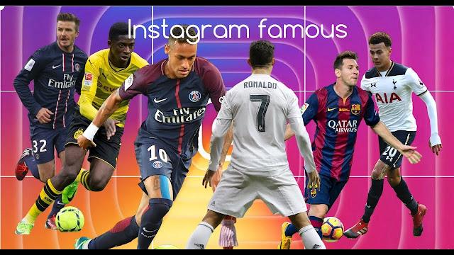 Top 5 Most Followed Footballers on Instagram in 2020