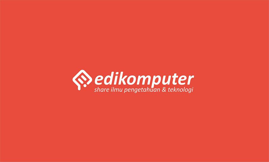 Desain logo baru edikomputer, makna baru, semangat baru