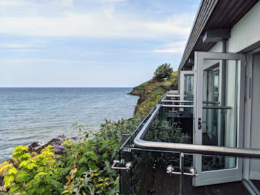 Suite views at the Cliff House Hotel in Ardmore Ireland