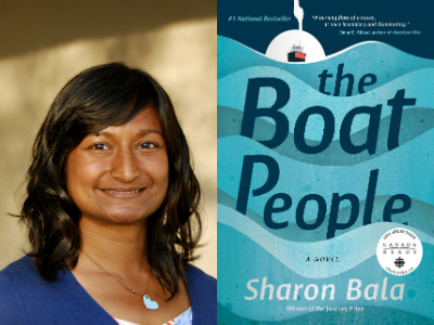 Sharon Bala, author of The Boat People