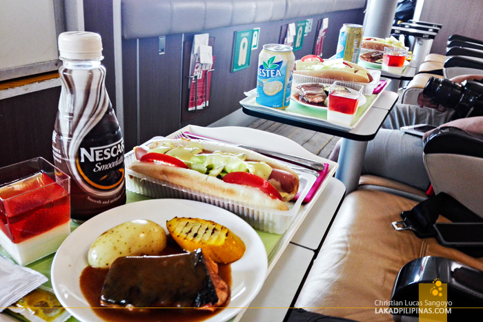 Hong Kong to Macau by Turbojet Meals