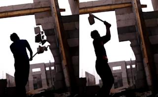 Viral, Video Tukang Bangunan Marah-marah Karena Tidak di Bayar
