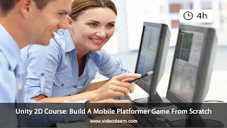 Unity 2D Course: Build A Mobile Platformer Game From Scratch