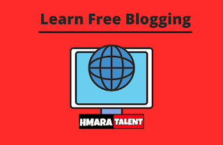 Hey Guys This is Ahbab Zameer, Founder of Hmaratalent.in  I always want to help you so I wanted to share my personal experience of Blogging, how I created Free Blog.  As we know that most people are coming into the Blogging industry and investing their precious time and money but we also know only a few people getting good score and income in Blogging - Why?    Due to a lack of Good Knowledge and thinking before starting A Blog. (alert-passed)>  Always remember if you are going to Start a Blog, So You will have to give your 100% and never focus on earning in Starting, Focus on your content what you are delivering to your audience.  I will definitely try to explain everything about My Personal Free Blogging Experience and I will cover:-
