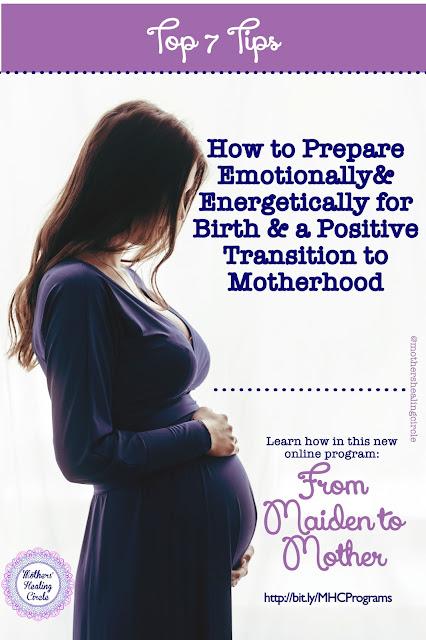 childbirth education course birth prep preparation motherhood transition maiden to mother energetic birth prep emotional spiritual