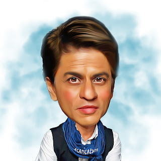 caricature_sharoo_khan_bollywood_picture_cartoon