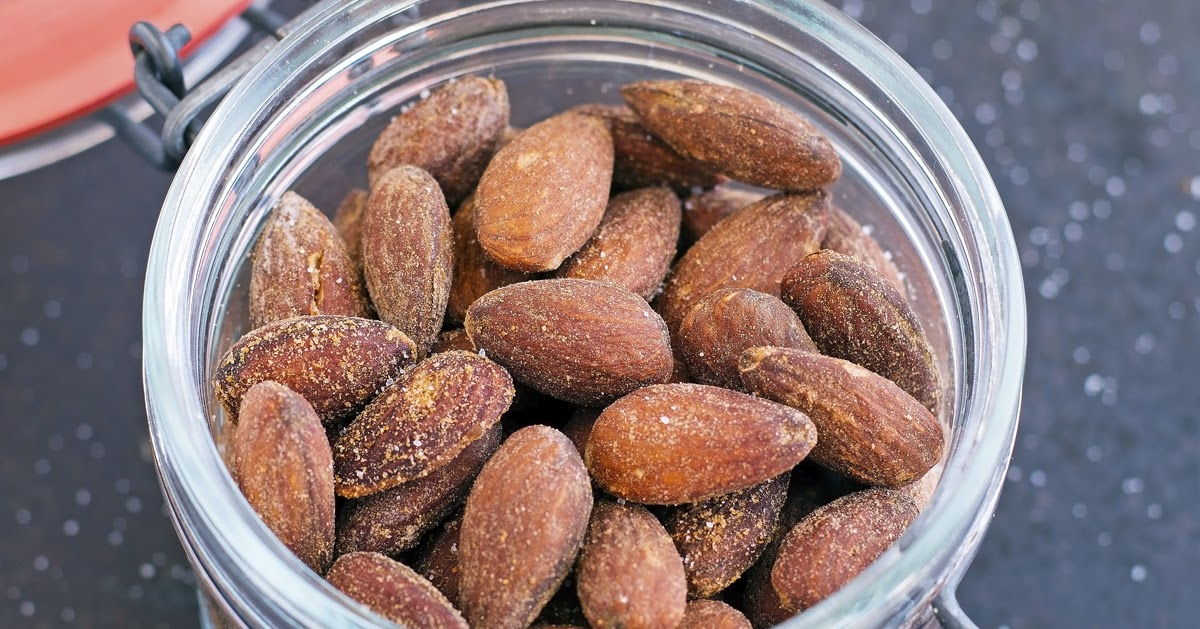 The Iron You: Roasted Salted Paprika Almonds