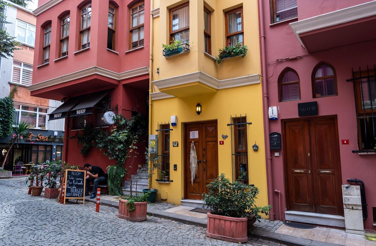 Buildings in Kuzguncuk, Istanbul