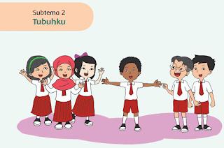 kelas 1 Subtema 2 Tubuhku www.jokowidodo-marufamin.com
