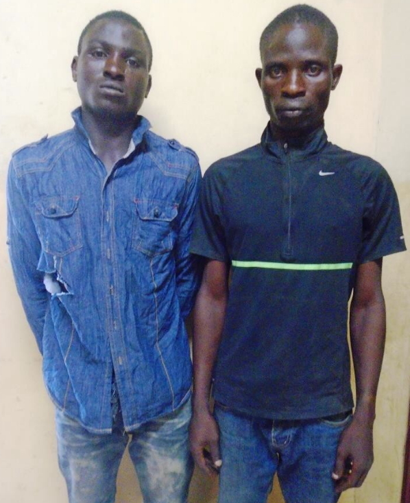 pickpocket robbers arrested lagos