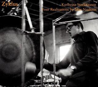 Karlheinz Stockhausen, Max Neuhaus, Zyklus: Four Realizations of Stockhausen's Zyklus