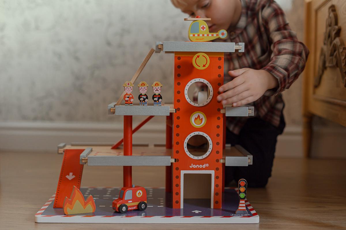 Remiza strażacka - JANOD