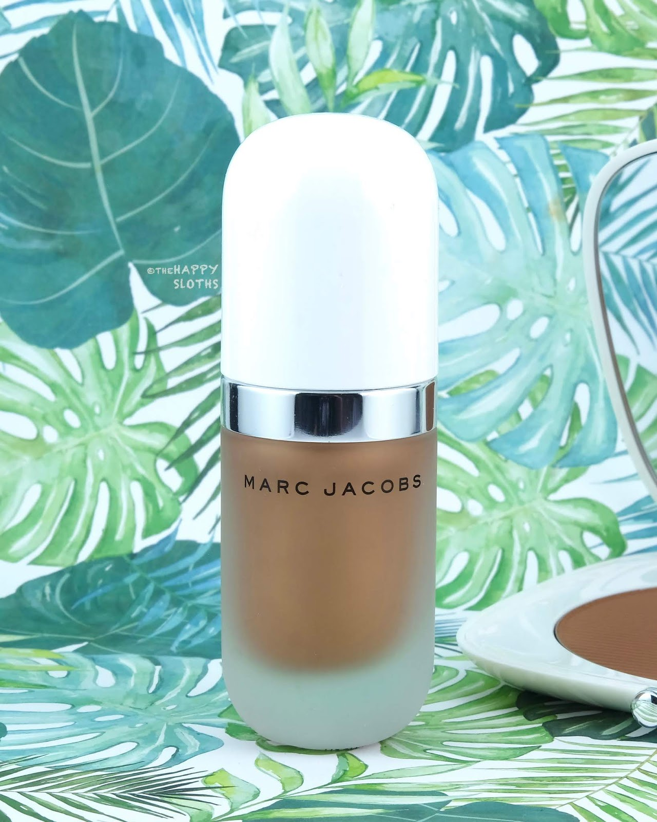 "Marc Jacobs | *NEW* Summer 2019 Dew Drops Coconut Gel Highlighter in ""54 Tantalize"": Review and Swatches"