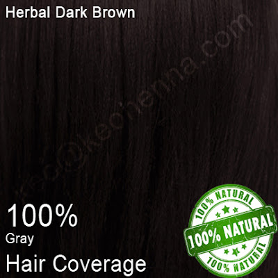 Herbal Dark Brown Hair Dye