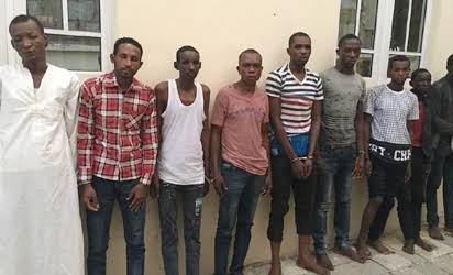6 Threaded & Notorious Abuja-Kaduna Highway Kidnappers Apprehended - Photos