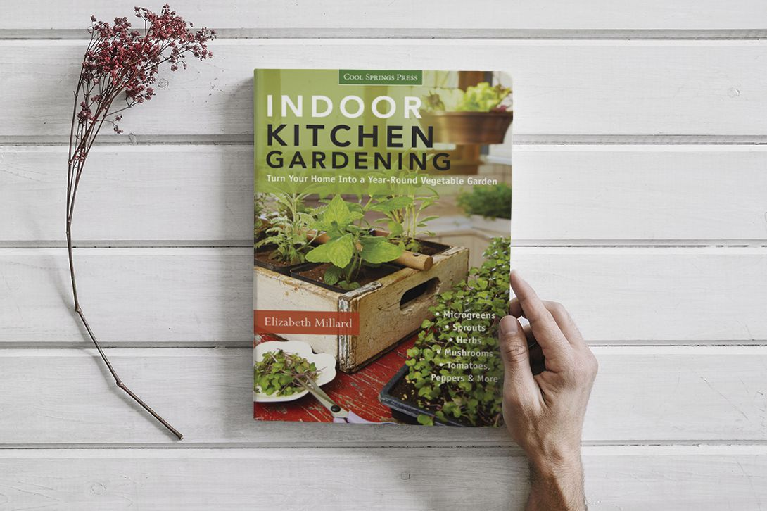 BOOK Indoor Kitchen GardeningTurn Your Home Into a Year-round Vegetable Garden  Microgreens Sprouts  Herbs  Mushrooms  Tomatoes, Peppers & More by Millard Elizabeth (pdf)