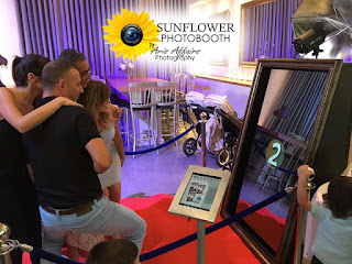 The Sunflower Photobooth by Aris Affairs Photography is the perfect addition to your Prescott event.
