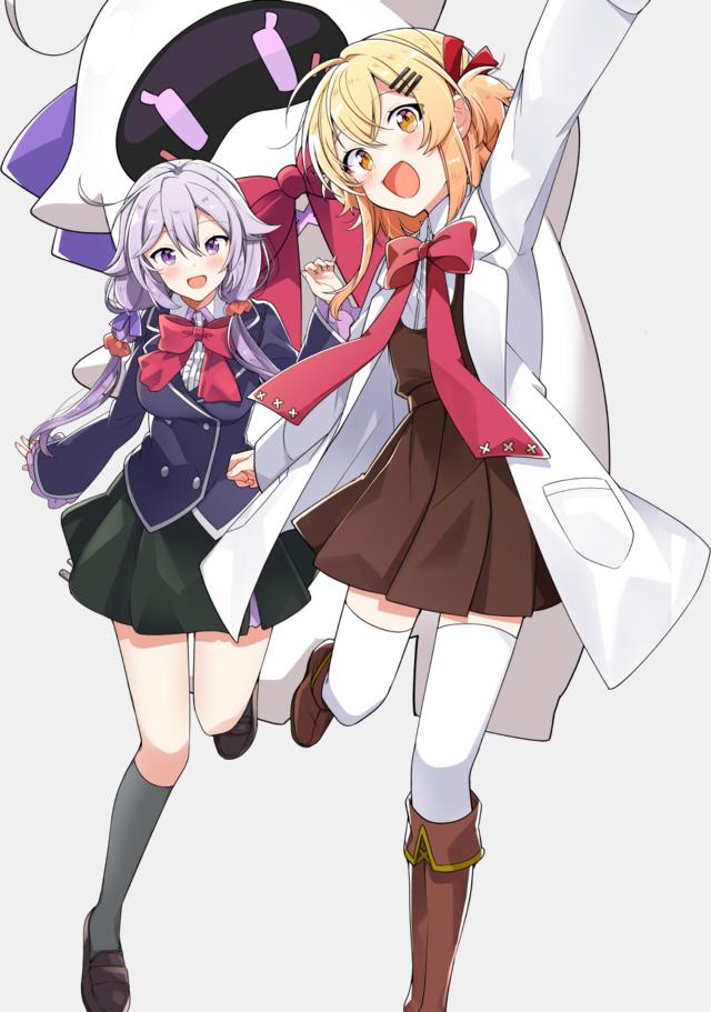 """Null & Peta, nuevo proyecto de anime será una """"comedia de hermanas"""""""