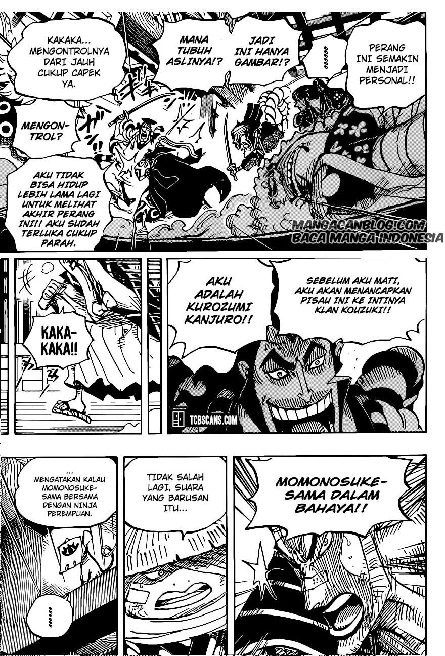 Manga One Piece Chapter 1008 Bahasa Indonesia