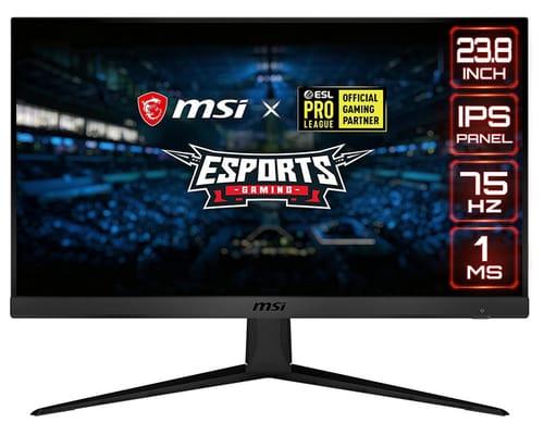 MSI 24 FHD OPTIX G241V E2 Non-Glare IPS Gaming Monitor