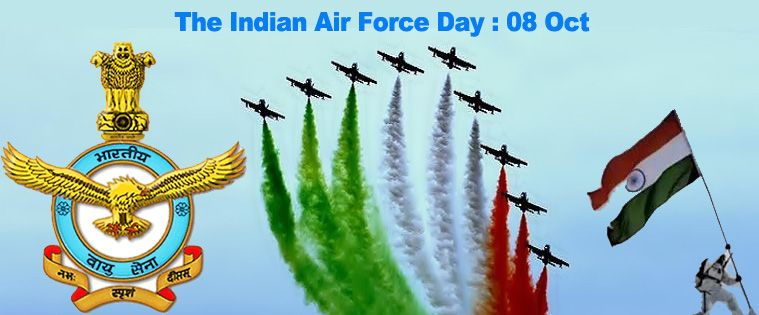 Happy Indian air force day 2020