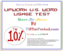Upwork U.S. WORD USAGE TEST 2016