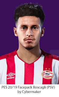 PES 2020 / PES 2019 Faces Olivier Boscagli by Cybermaker