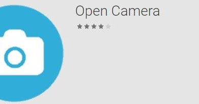 Open Camera: A completely featured camera app for android ~ Solution