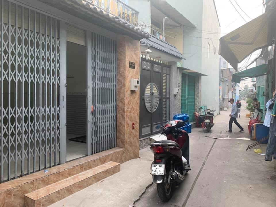 Bán nhà hẻm 365 Lê Văn Quới phường Bình Trị Đông A quận Bình Tân. Dt 4x14m