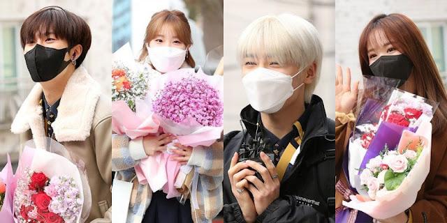 Bugün Seul Sahne Sanatları Lisesi'nden mezun olan K-Pop idolleri