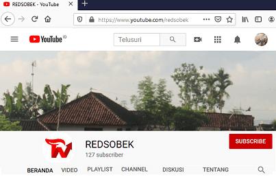 Channel Youtube Redsobek