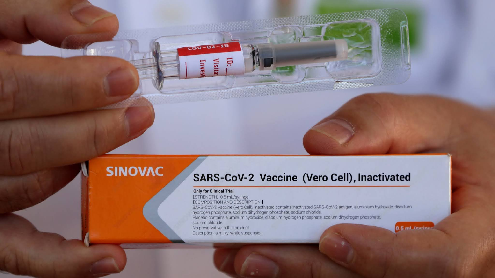 Vaksin produksi Sinovac Biotech Ltd.