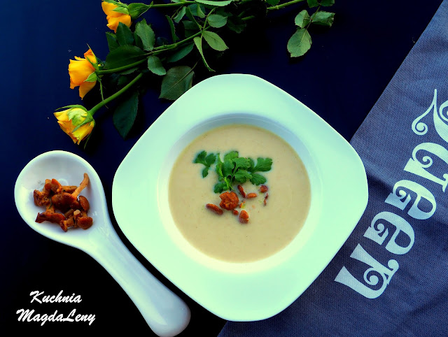 Zupa krem kurkowy