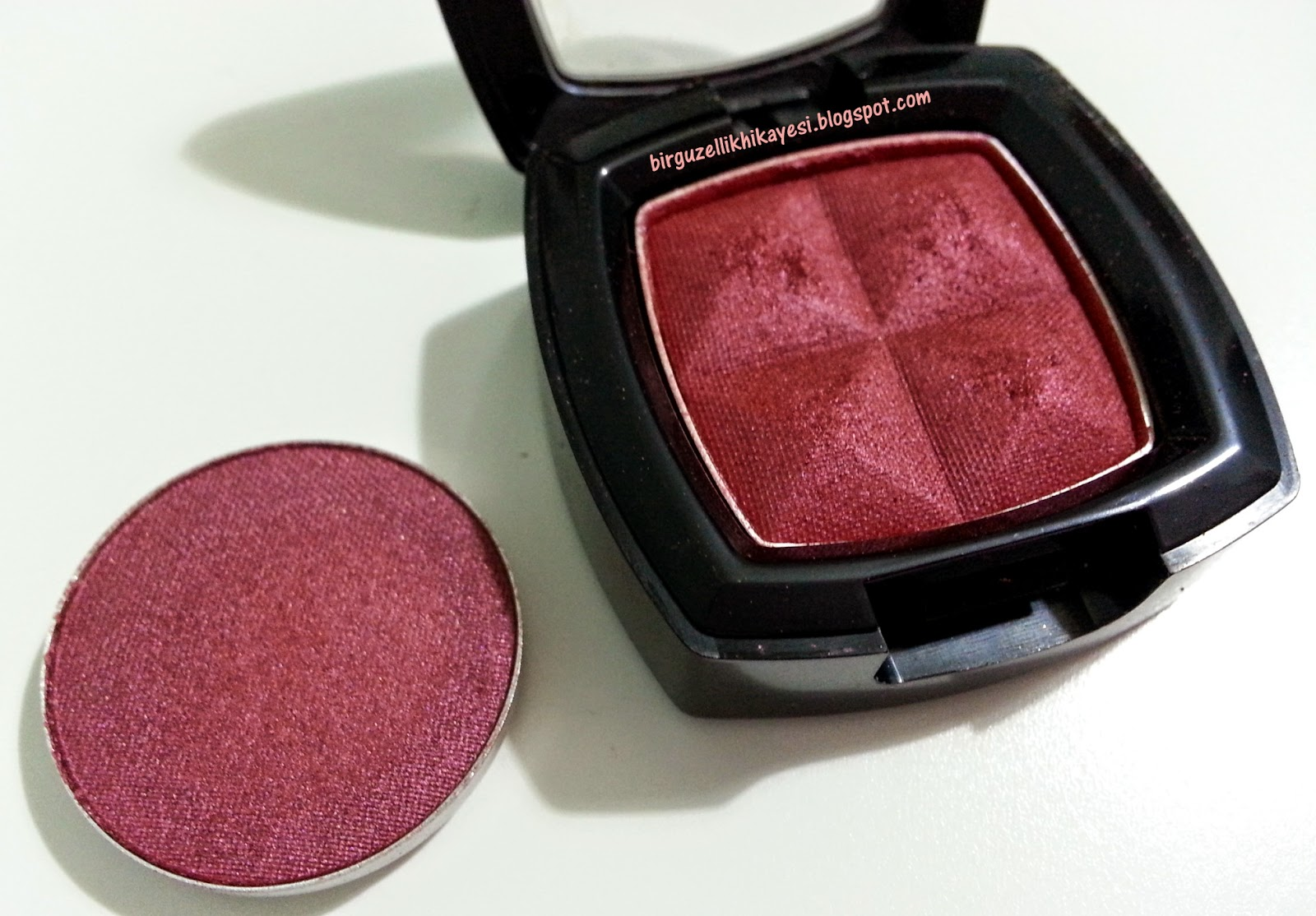 mac cranberry nyx rust