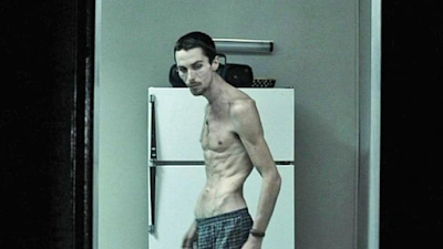 """Trevor Reznik (Christian Bale) en """"El maquinista"""""""