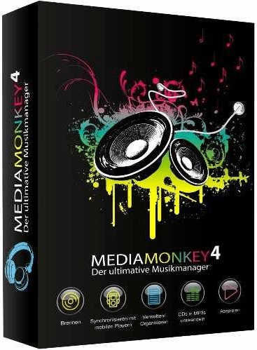 MediaMonkey Gold 4.1.27.1897 poster box cover