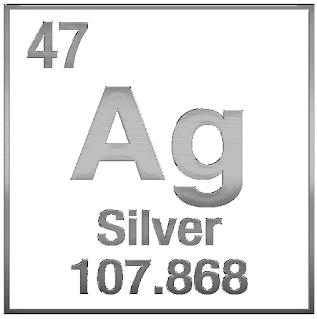 Hva er symbolet for sølv?