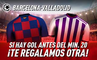 sportium Promo liga Barcelona vs Valladolid 29-10-2019