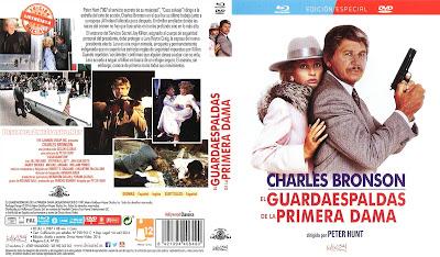 Carátula dvd / blu-ray: El guardaespaldas y la primera dama