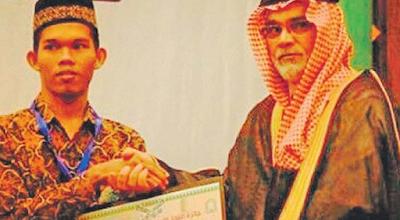 Zubirani, Remaja Teunom Aceh Jaya Juara Hifzhil Quran 30 Juz Nasional