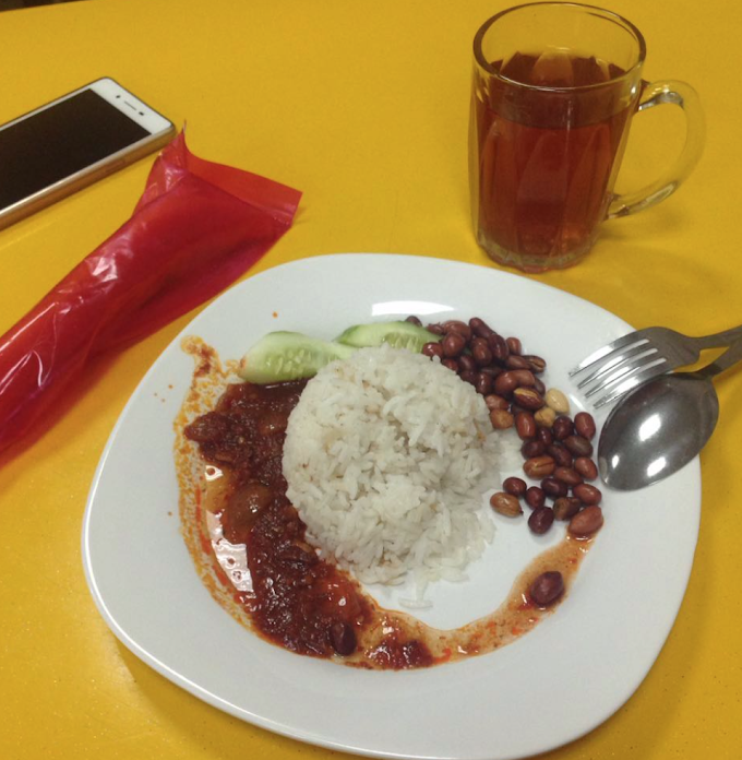 Diet #1 - Of PPUKM and Nasi lemak