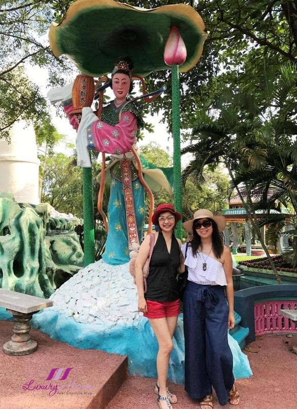 singapore travel blogger explores haw par villa