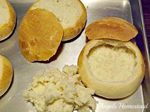 Home Sweet Homestead: Homemade Bread Bowls