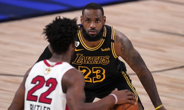 Los Angeles Lakers overwhelm shorthanded Miami Heat in Game 2 to take control in NBA finals