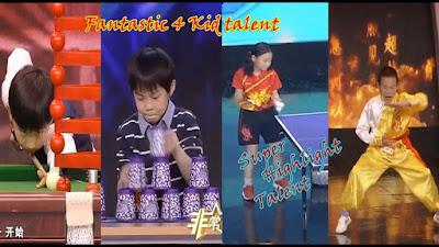 Top 4 Bocah Dengan Super Telent terbaik, fantastic 4 kid skill dewa